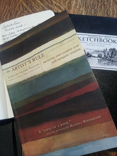 artists rule sketchbook